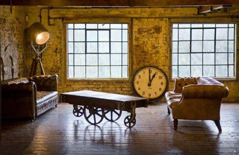 industrial rustic living room rustic industrial loft living room gram grab decorating