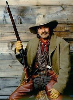 film cowboy young gun tom selleck with his sharps rifle quigley down under