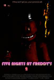 Five nights at freddy s 2 video game movie poster by thedarkrinnegan