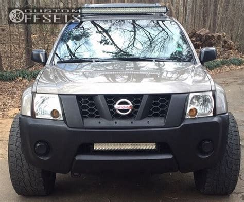 nissan xterra lift kit wheel offset 2007 nissan xterra aggressive 3 5