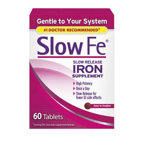 5e supplement fe release iron supplement tablets 60ct cvs