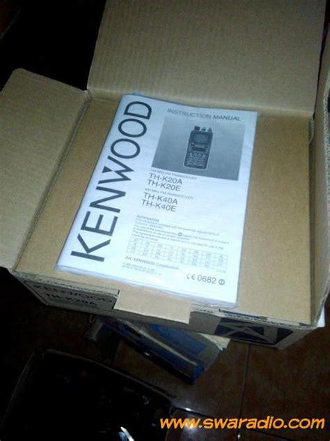 Ht Kenwood Thk 20 A Vhf 1 handy talkie kenwood thk20a vhf swaradio