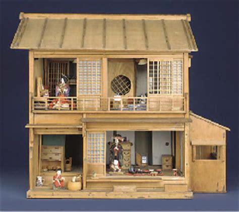 plain wooden dolls house a rare plain wood japanese doll s house christie s