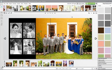 Wedding Software by How Your Bridebox Wedding Album Is Created