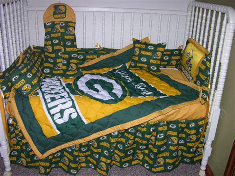upholstery green bay new crib bedding m w green bay packers fabric