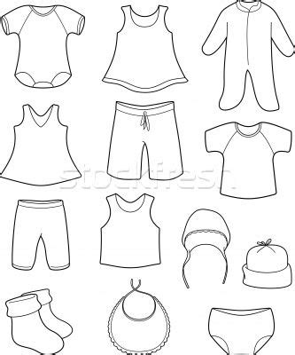 1000 images about clothing coloring pages on pinterest