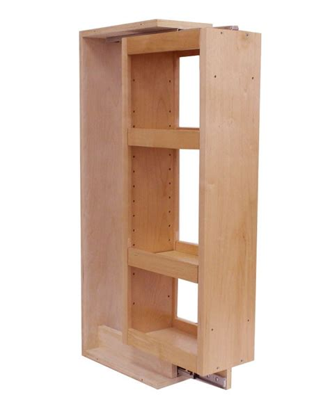 wall pull out spice cabinet fits 6 quot wall fillers