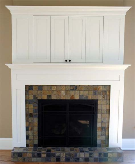maple fireplace mantle w cabinets brices furniture