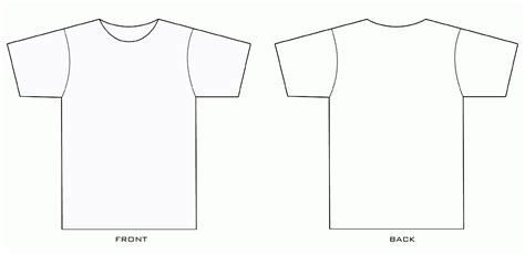 t shirt drawing template www pixshark com images