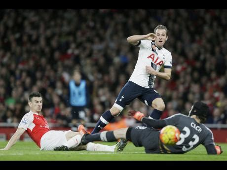 arsenal yesterday game arsenal held by spurs in derby draw sports jamaica gleaner