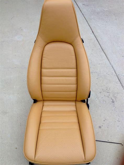 Ledersitze Lackieren by Reviving Old 1985 911 Leather Seats Pelican Parts