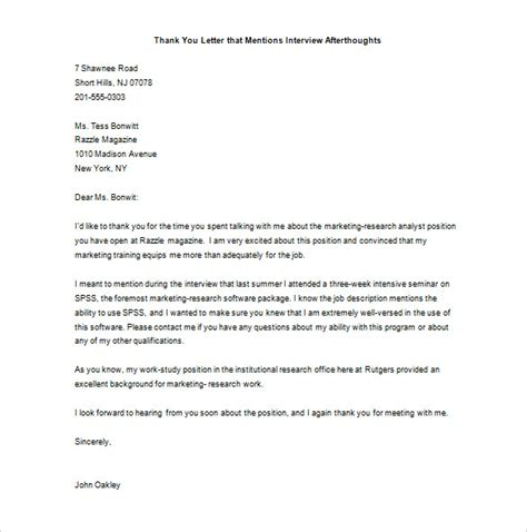 thank you letter for teamwork marketing thank you letter 7 free sle exle