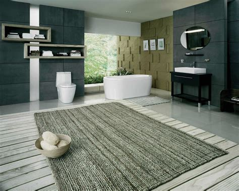 Large Bathroom Rugs Homesfeed Big Bathroom Rugs