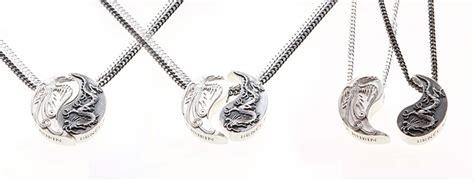 yin yang necklace set