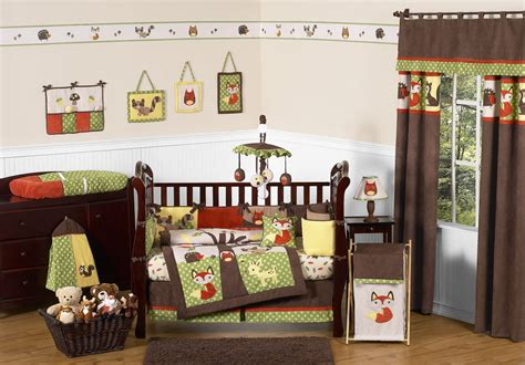 woodland themed nursery bedding pin by barbara mccain on baby pinterest