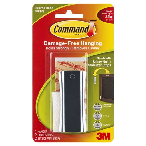 command sticky nail sawtooth hanger how to organize my command 2 2kg sticky nail sawtooth hanger and stabilizer