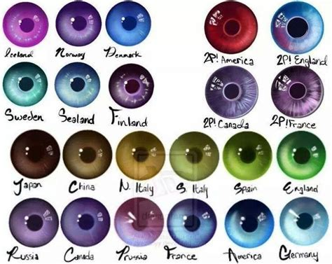eye color rarity hetalia eye color i japan eye color