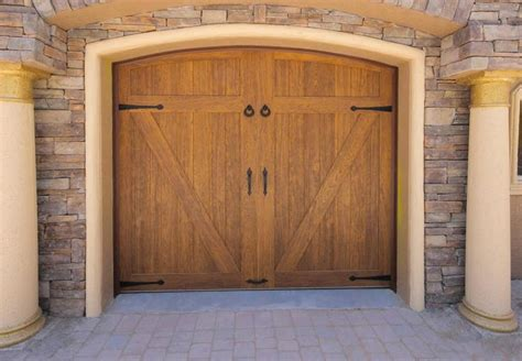 Faux Wood Carriage Style Garage 1000 Images About Faux Wood Garage Doors On Residential Garage Doors Steel Garage