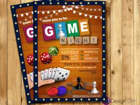 Home Design Games Free Online For Adults by Game Night Invitation Game Party Invite Old Games