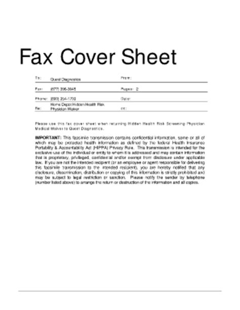 Confidential fax cover sheet examples form fill online printable