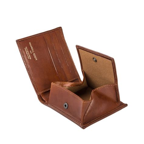Leather Wallet Coin the ticciano luxury mens leather wallet with coin pocket