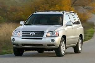 How Much Is A Toyota Highlander 2006 Toyota Highlander Hybrid Drive