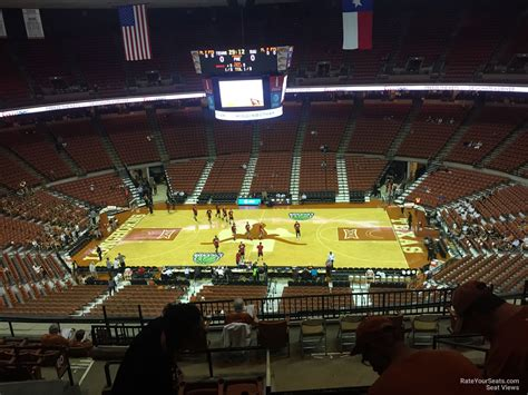 what is section 61 frank erwin center section 61 texas basketball