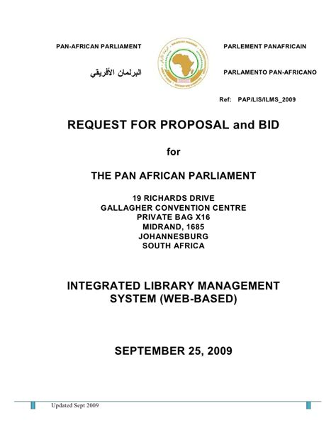 Bid Request Letter Exle Request For And Bid