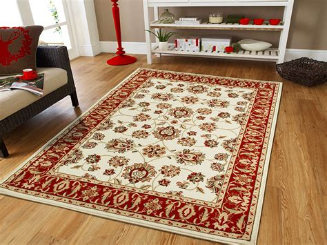 large cream  traditional rugs ivory dining room rugs