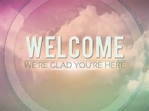 Welcome Powerpoint Template by Church Welcome Slide Church Powerpoint