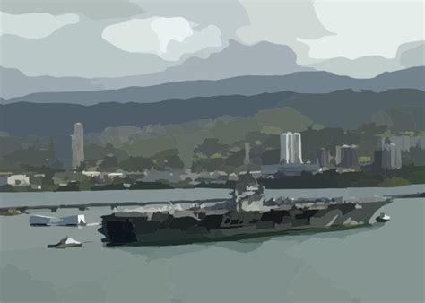 pearl harbor port uss abraham lincoln cvn 72 makes a port call at pearl