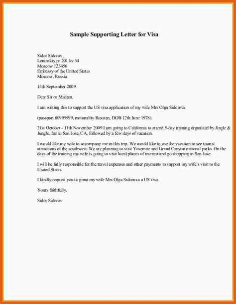 Support Letter Model Letter Of Support Template Apa Exles