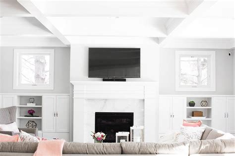 fireplace with built in cabinets sectional with built in sofa table bookcase contemporary