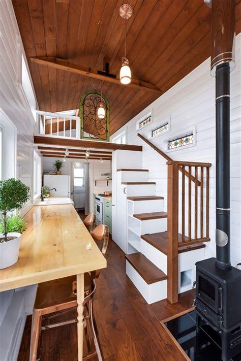 tiny house  sale ft custom loft edition tiny home