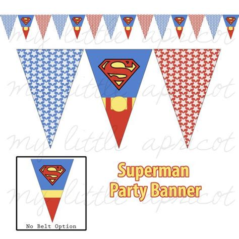 printable superman banner 28 best images about party printables on pinterest star