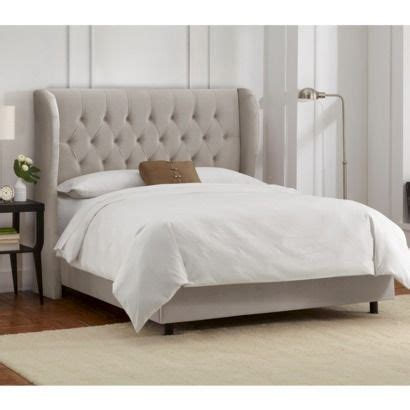 target bed headboards brompton tufted wingback velvet bed 700 from target