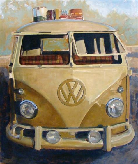 volkswagen bus painting pin by santiago michalek on my paintings volkswagen