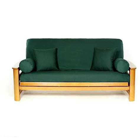 full size futon covers lifestyle covers hunter green full size futon cover free