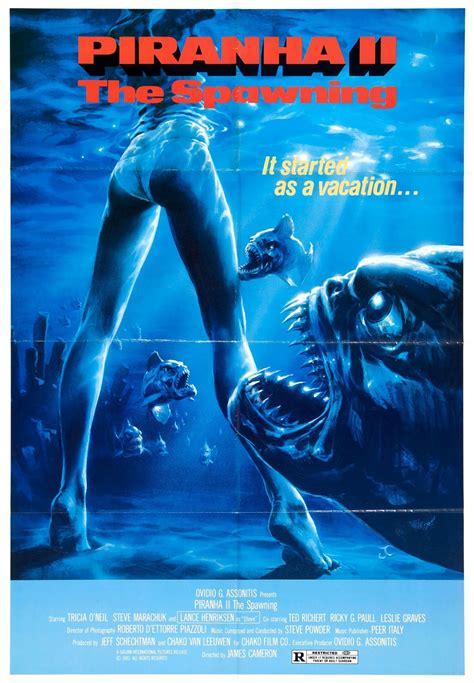 Poster Piranha 2 30x40cm piranha 2 the spawning pulse
