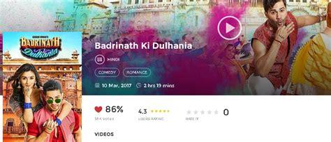 film 2017 ki badrinath ki dulhania 2017 hindi movie hd 720p avi mp4