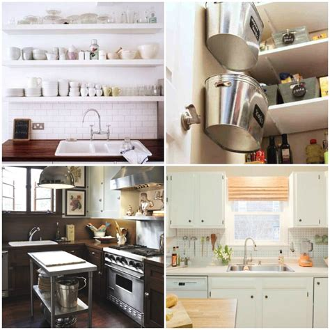 organizing small kitchen maximizing small space living