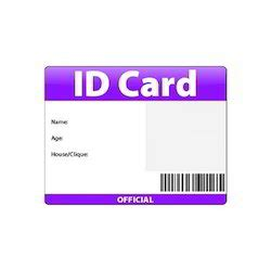 printable teacher id cards blank id badge template pictures to pin on pinterest