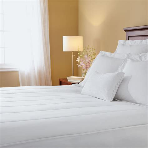 Sunbeam Quilted Heated Mattress Pad King sunbeam 174 quilted king heated mattress pad