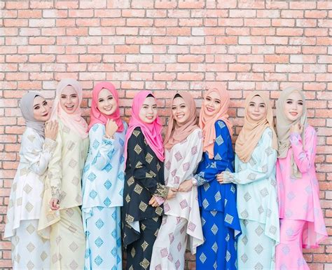 Baju Kurung Wanita Gempal 17 fesyen baju kurung terkini design cantik untuk wanita moden