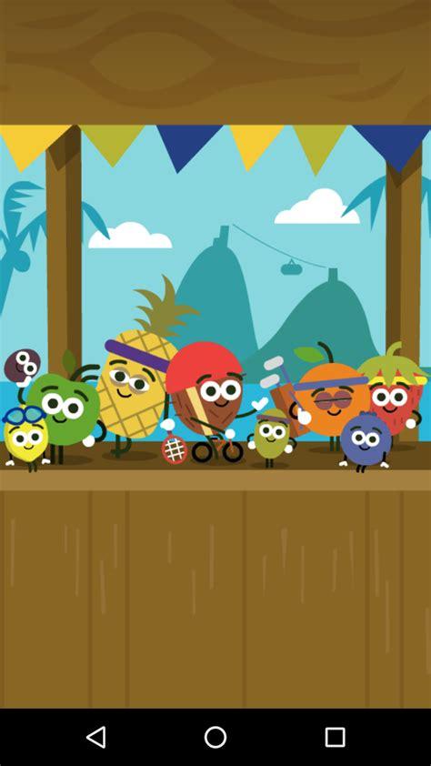 doodle 4 olympics doodle olympics 2016 fruit screenshot
