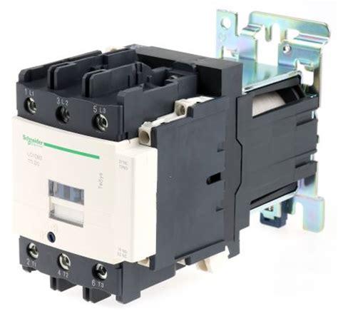 Kontaktor Lc1dt80a 4 Pole 4 No Schneider 80 Er lc1d80bd tesys d lc1d 3 pole contactor 3no 80 a 45 kw 24 v dc coil terminal