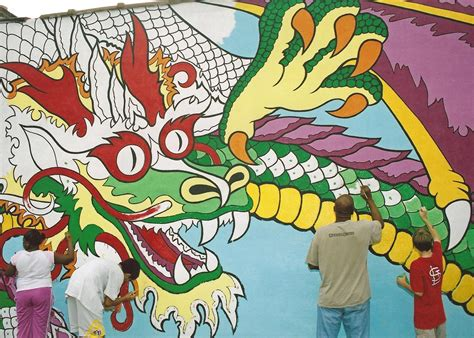 How To Paint Mural On Wall how murals help define strengthen st louis and the