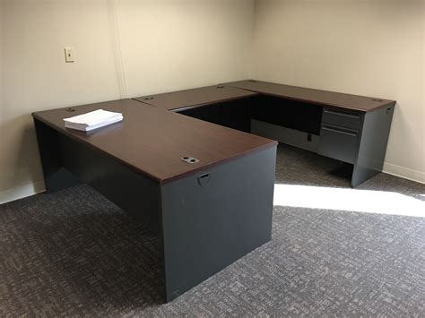 Used U Shaped Desk Used U Shape Desk 72 215 36 Office Furniture