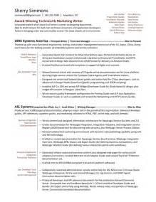 Resume samples amp examples brightside resumes