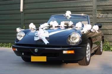 Wei Es Band Am Auto by Hochzeitspaket F 252 R Auto Mit Schleifen Und Band Weiss
